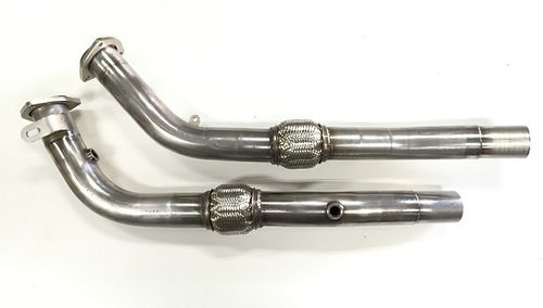 RS4 B7 Downpipes ohne Katalysatoren