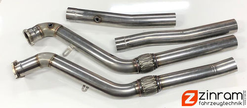 Downpipes Audi RS6 4F 76,1mm 3""