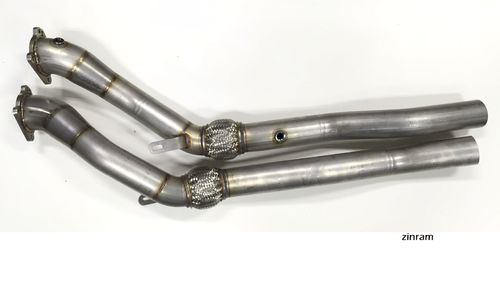 S4 RS4 B5 Downpipes ohne Katalysatoren