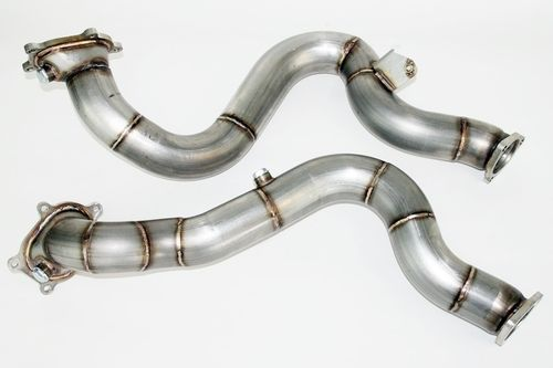 "Audi RS6 4G Downpipes 2,75"" 70mm"